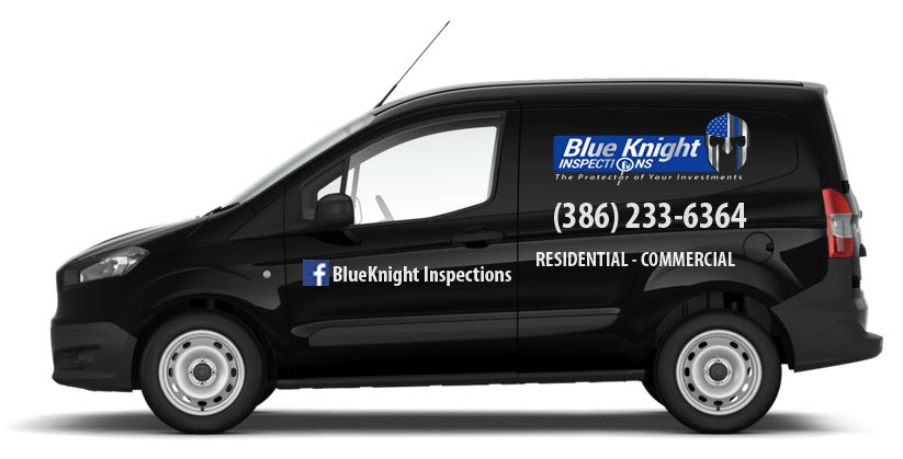 Blue Knight Inspections Van